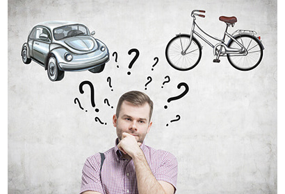 What is cheaper, bicycle or a car with deals
