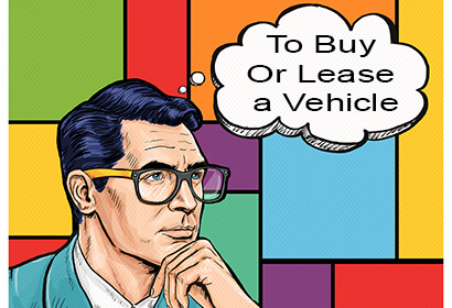buying vs leasing a car, thinking man with a bubble thought zcarlease